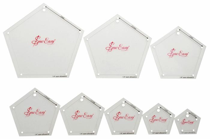 siesta frames limited pentagon template set