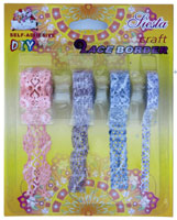 Self Adhesive Lace Border LBAS3