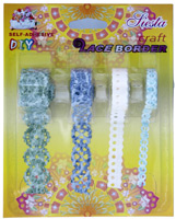 Self Adhesive Lace Border LBAS4