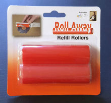 Roll-away refill pack